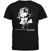 Beethoven Black Adult T-Shirt