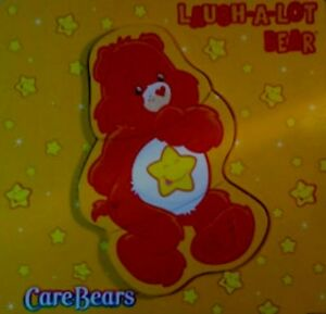 Care Bears Laugh - A - Lot Bear Wood Inlay Puzzle Factory Sealed made 2004 NEW