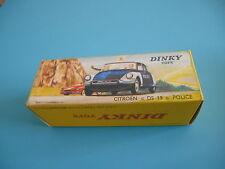 Boite box dinky toys identique à l'origine DS19 POLICE CITROEN ref 501