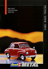Katalog D GB F NL Revell Modellauto Metal 1997 1998 brochure model car Prospekt