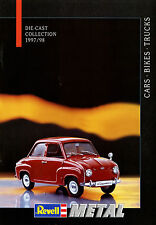Katalog D GB F NL Revell Modellauto Metal 1997 1998 brochure model car Prospekt