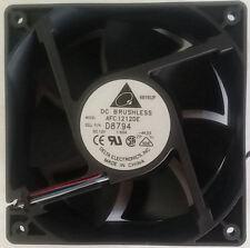 Delta AFC1212DE (D8794/Y4574) 120x120X38mm Ball Bearing HI Speed Fan, PWM 4PIN