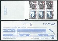 1988 EUROPA SVEZIA LIBRETTO MNH ** - VS