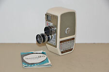 Vintage Mamiya 8mm Camera 8G Model III with case and manual - Works!