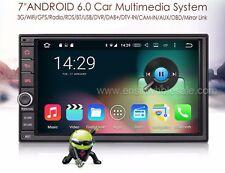"AUTORADIO 7"" Universale Navigatore Gps Android 6.0 2 Din Dvd Mp3 Bluetooth Sd"