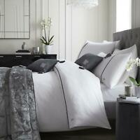 White Duvet Covers 200 TC Hotel Laurence Llewellyn-Bowen Luxury Bedding Sets