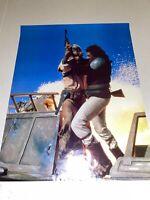 "Vintage 1983 Lando Calrissian Return of the Jedi Star Wars Poster 17"" x 22"" RARE"