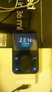 Creative ZEN Vision:M Black ( 30 GB ) Digital Media Player