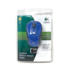 Logitech Wireless Mouse M305 Blue Swirl Rare BRAND NEW SEALED 910-001899