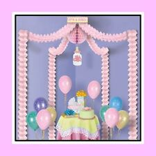 Baby Girl Pink Decorating Kit for Baby Shower