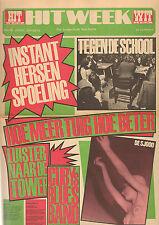 HITWEEK 1968 nr. 12 - JETHRO TULL / CUBY + BLIZZARDS / LEVENDE OBJEKTEN SJOOO