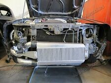 "25.5""x13""x3.5"" Intercooler + Brackets For 79-93 Fox Body Ford Mustang V8 5.0"