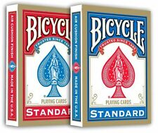 Lot de 2 jeux de cartes de poker neufs Bicycle Standard