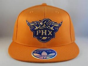 Phoenix Suns NBA Adidas Flex Cap Hat Size L/XL Orange