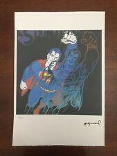 Andy Warhol Litografia 57 x 38 Arches Timbro Secco Israel Castelli AN362