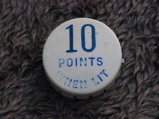 Pinball 10 Points when lit Blue pop bumper cap Plastic Original Gottlieb Flipper