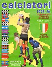 FIGURINE ORIGINALI CALCIATORI PANINI 1975-1976 0,35€  MANCOLISTE ALBUM RECUPERO