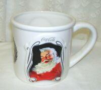 Large 75th Year Coca Cola Santa Claus Mug Stein Cup 2006
