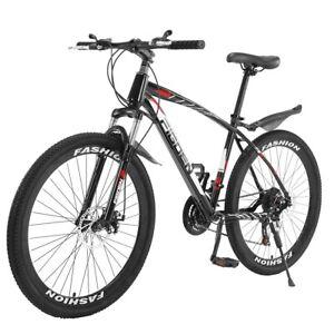 26in Mountain Bike City Bike Men's 21 Speed Hybrid Retro Urban Commuter BIKES
