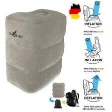 Fußablage Fußstütze Fußkissen Hocker Fußhocker aufblasbares Kissen Foot cushion