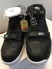 Nike Air Trainer 1 Mid SP/ Fragment BLACK Sz 9 100% Auth. Retro shoes 806942 001