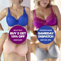 TOP UK BRANDS Womens Ladies Plus Sizes Everyday Sexy Bras Underwired Moulded