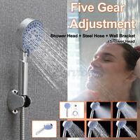 5-Stage Shower Nozzle Practical Water Heater Shower Head Adjustable Shower Head
