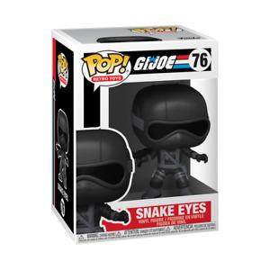 GI Joe Snake Eyes Funko Pop #76 Figure - Brand New - In Stock