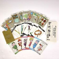 Clue 1960 Complete Set of Cards Envelope & Rules - 60's Board Game Parts Pieces