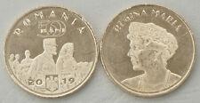 Rumänien / Romania 50 Bani 2019 Königin Maria unz.