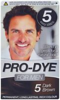 Glamorize Pro-Dye For Men - Men's Hair Dye Colourant - Long Lasting