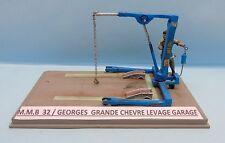 M.M.B 032 / KIT RESINE /  GEORGES GRANDE CHEVRE LEVAGE GARAGE 1/43