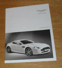 Aston Martin V8 Vantage N420 Coupe Limited Edition Brochure 2010-2011