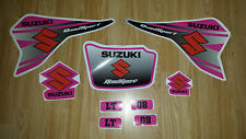 SUZUKI LT 80 Quad Decals Graphics Kit - Pink Stickers LT80