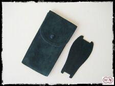 Pochette per orologi in tessuto bifloccato spesso verde