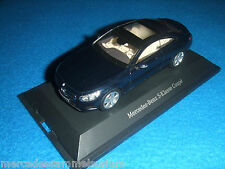 Mercedes Benz C 217 S Klasse Coupe/S Class Coupe 2014 Blau/Blue 1:43 Neu/New
