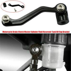 ATV Motorcycle Brake Clutch Master Cylinder Fluid Reservoir Tank Oil Cup Bracket
