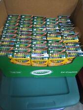 crayola 24 Ct Wholesale Lot Of 100 Boxes brand new crayola crayons