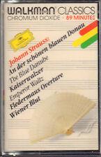 """JOHANN STRAUSS """" THE BLUE DANUBE """" MUSICASSETTA SIGILLATA DEUTSCHE GRAMMOPHON"""