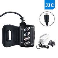 JJC Wired Remote Commander Control for Sony RM-AV2 AVsocket Handycam Camcorder