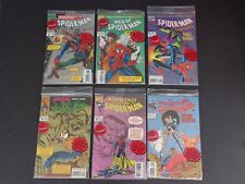 Spider-man Animation Cell 1994 Set of 6 Bagged Comics - Lot of 6 NM Books