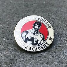 Tom of Finland Muscle Academy Enamel Pin