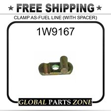 1W9167 - CLAMP AS-FUEL LINE (WITH SPACER)  for Caterpillar (CAT)