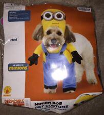 Rubie's Minion Bob - Despicable Me - Dog Costume Sz M - NEW w/ Tags