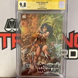 Wonder Woman #750 CGC 9.8 signed bt Jim Lee Torpedo Comics Edition C
