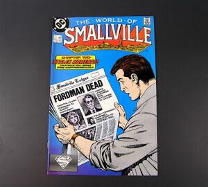 DC Comics THE WORLD OF SMALLVILLE  #2 & #3  , 1988 NM/M. (lot c)