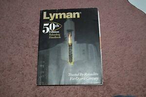 LYMAN RELOADING MANUAL 50TH EDITION