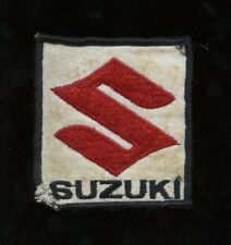 1970s Suzuki Race/Racing Patch - Vintage NASCAR, NHRA, Indy