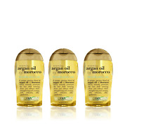 MOROCCAN ARGAN OIL Hair Treatment 100ml - Penetrating Renewing x 3pack
