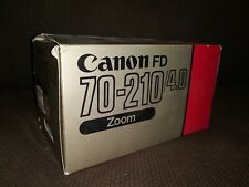 Canon FD 70-210/4.0 Zoom Lens  f/4.0
